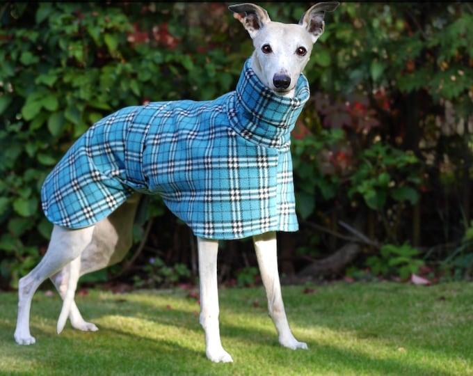 Whippet and greyhound all fleece winter coats
