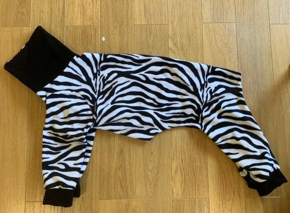 Greyhound fleece pyjamas