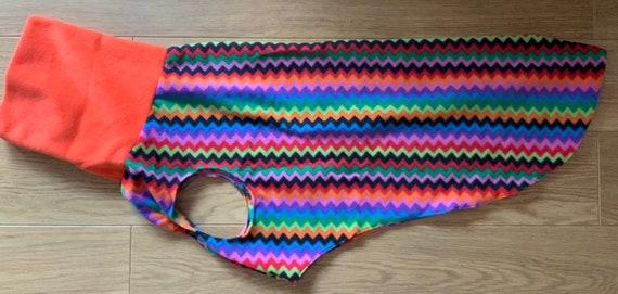 Greyhound fleece jumper (on sale)