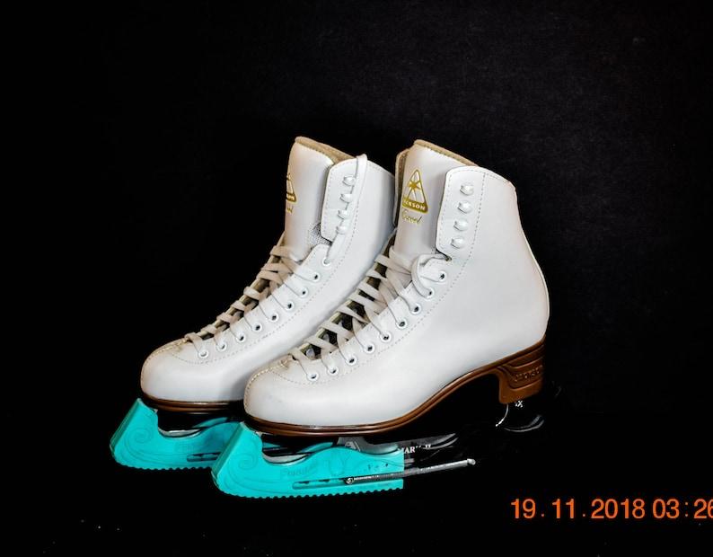 f9ab2a381a7 Vintage Ladies Ice Skates Jackson Excel Ladies Ice Skates