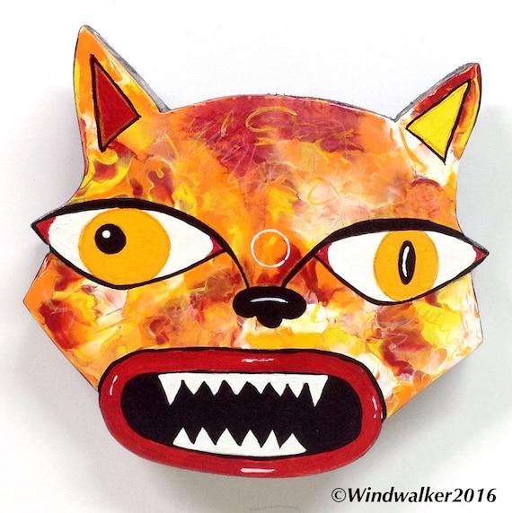 Cat Folk Outsider HeadMad1 Art Art Folk Outsider rxhQCdts