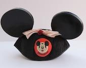 Disney Mickey Mouse Ears with Bow - Vintage Disneyland Memorabilia