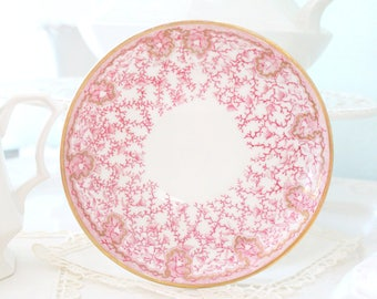 ANTIQUE SAUCER, by Sampson Bridgwood and Son, Replacement China - ca. 1800s