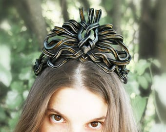 MADE TO ORDER - Cersei Lannister crown cosplay game of thrones GoT costume queen larp renaissance halloween coronation medieval knot