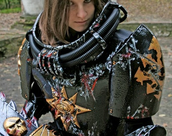 MADE TO ORDER - Scout Marine chaos Warhammer 40k armor battle space marine scout fantasy cosplay larp sci fi