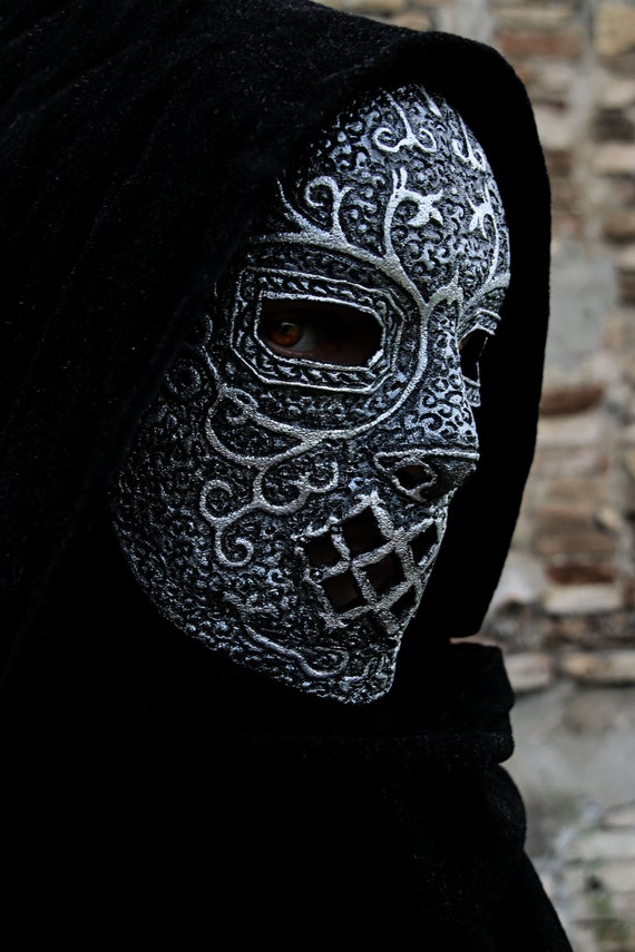 Made To Order Death Eaters Mask Potter Harry Cosplay Lord Etsy