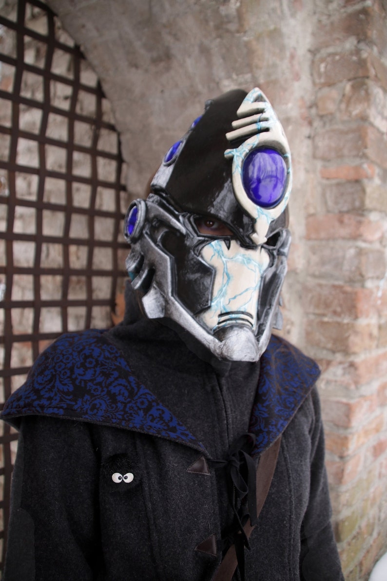Items similar to MADE TO ORDER - Warhammer black solitaire eldar harlequin complete cosplay