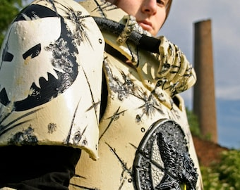 MADE TO ORDER - Scout Marine lunar wolf Warhammer 40k armor battle space marine scout fantasy cosplay larp sci fi