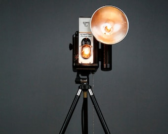 Upcycled Camera Lamp - Argus 75 Twin Lens Reflex
