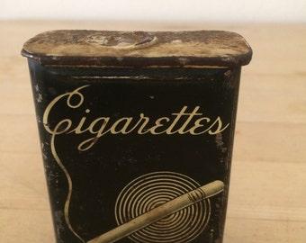 Vintage Cigarette Tin