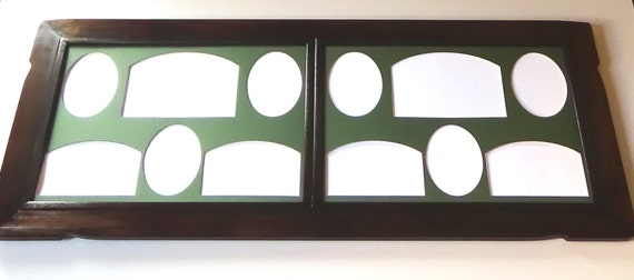 30discount Xxl Wood Frame Collage Frame Multi Opening Picture Etsy