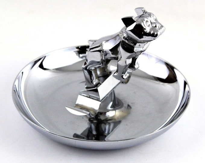 1970s Mack Truck Bulldog Cigar Ashtray, Tobacciana
