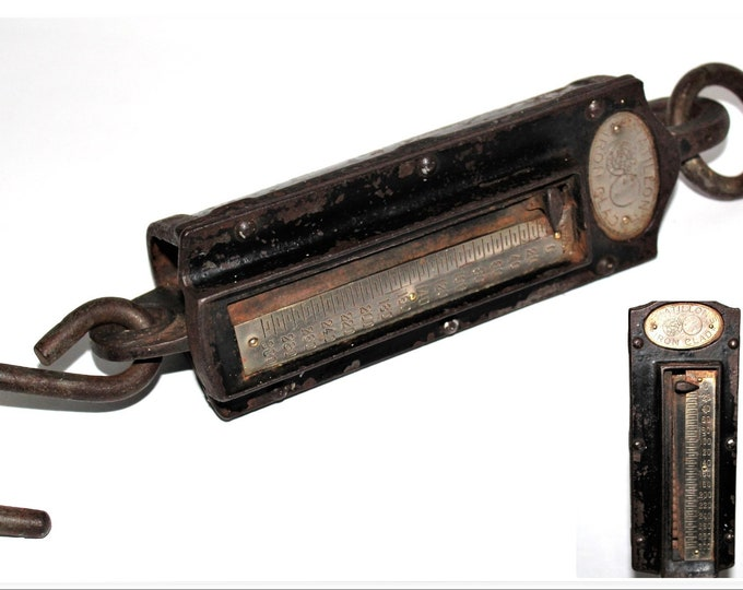 Chatillon's Iron Clad 300lbs Hanging Industrial Scale