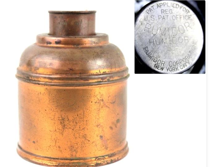 Vintage Copper Rumidor Humidor, Tobacco Humidor
