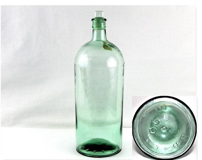 Antique Apothecary / Cannington Shaw Bottle / Antique Bottle / Medical Antique