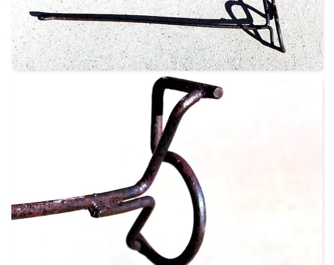 Branding Iron, Hand Forged, Number 5 Branding Iron, Western Memorabilia, Western Home Decor