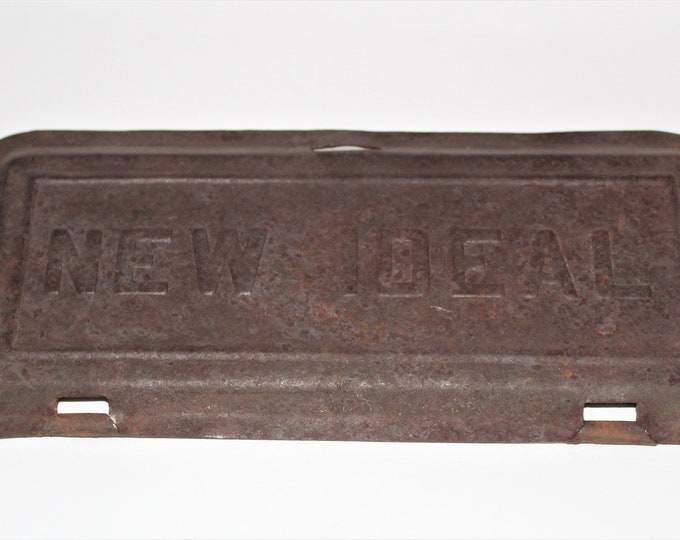 McCormick Deering Tractor, NEW IDEAL Toolbox Lid, Antique Tractor 1918