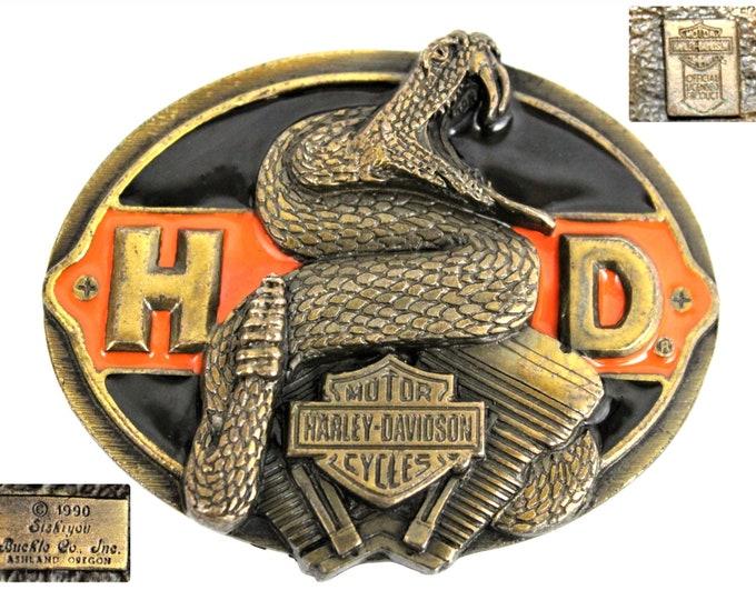 1990 Harley Davidson, Siskiyou Belt Buckle