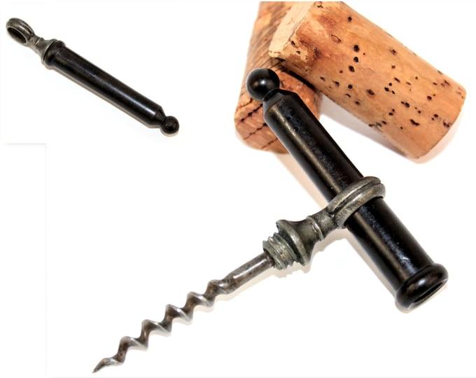 Antique Corkscrew, 19th Century, French Corkscrew, Wine Bottle Opener