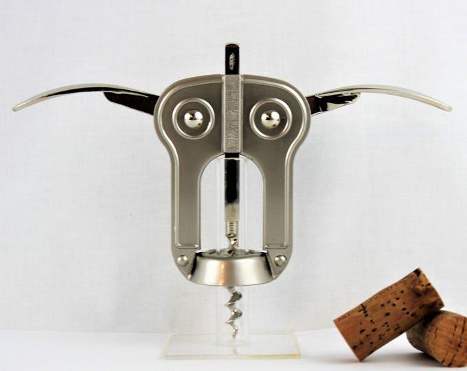 Vintage Corkscrew, Spanish BOJ (Owl) Corkscrew, Wine Opener