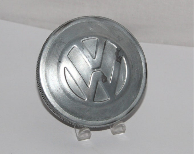 Vintage VW Bug / Embossed Gas Cap / Volkswagon