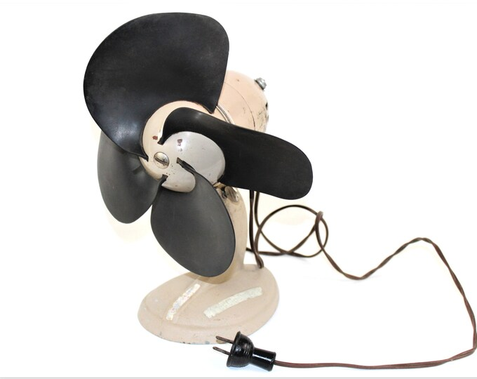 1940s Dominion Electric Rubber Bladed Fan