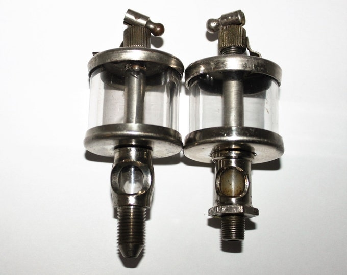 Pair of Antique Oilers, Drip Oilers for Tractors