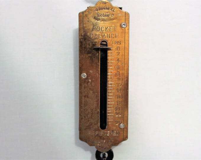 Vintage Rebure Pocket Balance Scale, Made in Germany
