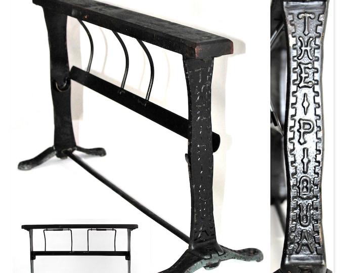 Antique Merchantile, Paper Dispenser, The Piqua Paper Roll Dispenser, General Store Display