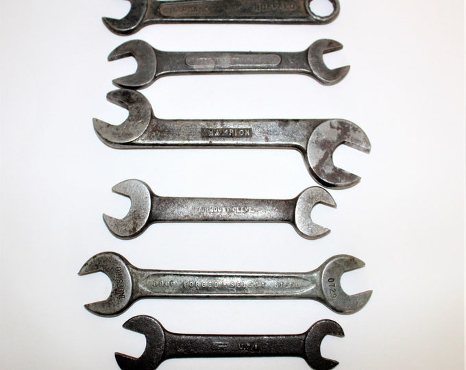 Antique Tools, Fairmount Cleveland, Ford Model T, Antique Wrenches 1917-1940