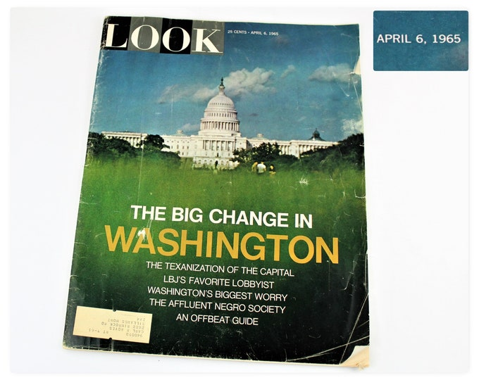 April 6, 1965 Edition of LOOK Magazine