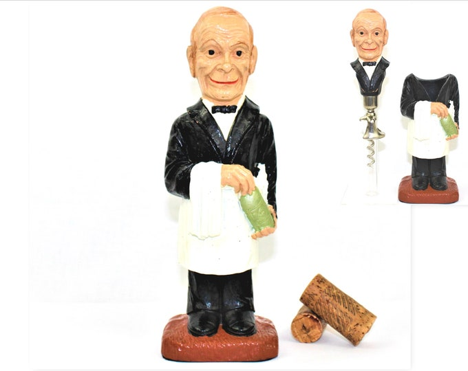 Syroco Waiter Barware Set, Corkscrew, Wine Bottle Opener