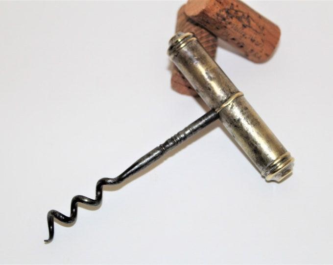 Antique Corkscrew, American Designed, Edward Haff Corkscrew, 1885, Wine Bottle Opener