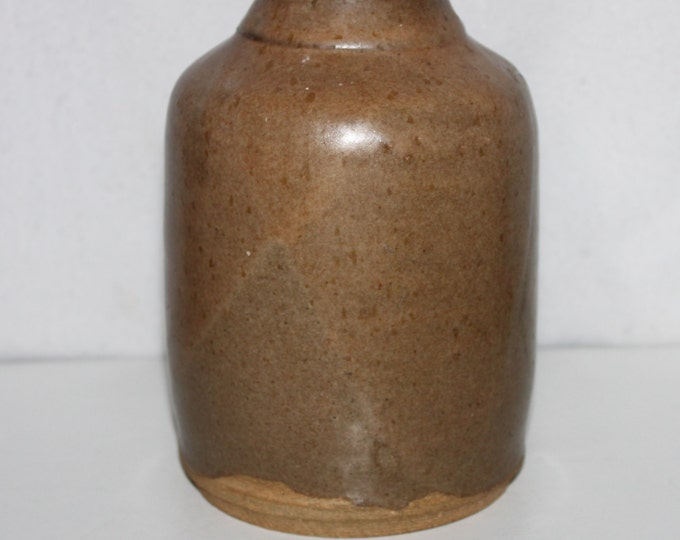 Vintage Stoneware Crock / Slip Grazed / Canning Crock / Farm Ware / Antique Farm