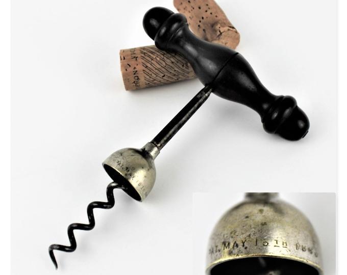 1883 William Bennitt Magic Corkscrew