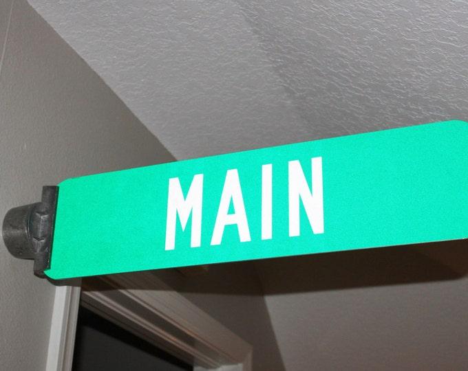 Vintage Street Sign, Main Street Sign