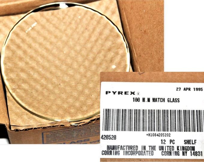 Pyrex 100mm Watch Glasses, 9985-100 Pyrex Watch Glass