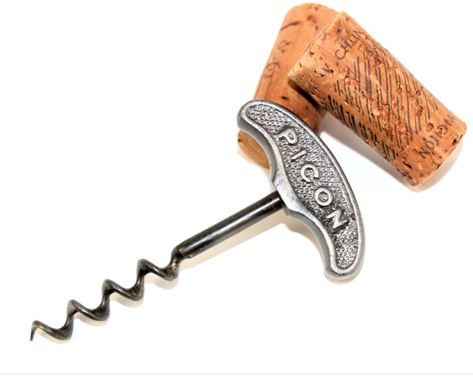 Vintage 1930s  French Advertising Corkscrew, French Picon, Wine Bottle Opener