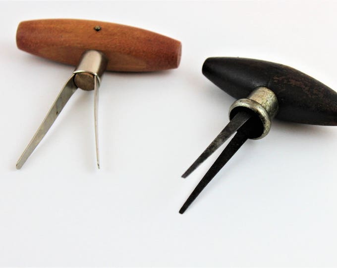 Antique and Vintage Pair of Prong Pullers, Cork Removers, 1899 Converse Prong Puller