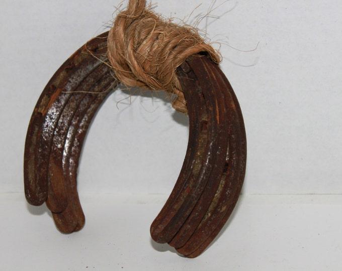 Fresh Barn Find, Vintage Horseshoes, Farmhouse Decor