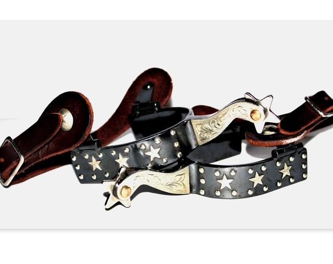 Vintage Western Cowboy Spurs, Wester Decor
