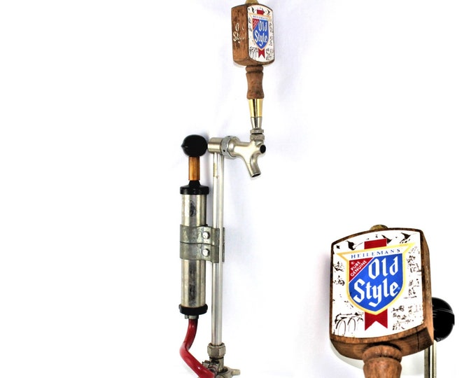Mid Century Barware / Heilmans Old Style Beer / Keg Tap / Vintage Breweriana