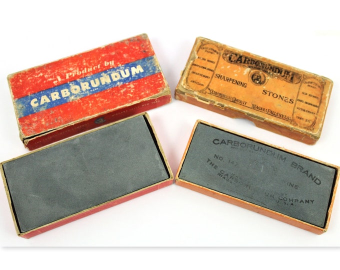 Vintage Razor Hone,  Carborundum Razor Hone, Sharpening Stones, for Sharpening Straight Razors
