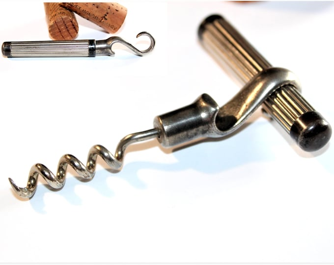 1939 Knud Knudsen's Picnic Style Corkscrew and Bottle Opener, Wine Bottle Opener