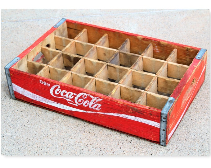 Vintage Coca Cola Crate / Collectible Coca Cola / Vintage Coca Cola