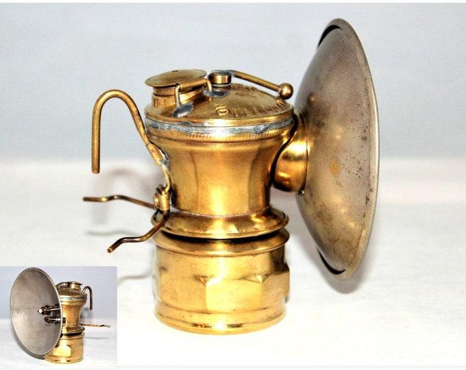 1920s Auto Lite Carbide Miners Lamp, Mining Artifact