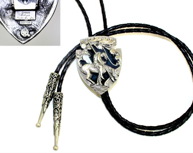 Siskiyou Pewter Bolo Tie, End of the Trail, Western Attire