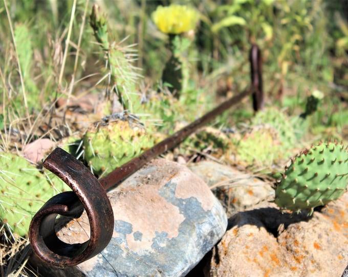 Authentic Branding Iron / #6 or #9 / Western Memorabilia / Western Home Decor / Western Americana