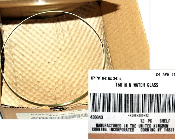 Pyrex 150mm Watch Glasses,  9985-150 Pyrex Watch Glass