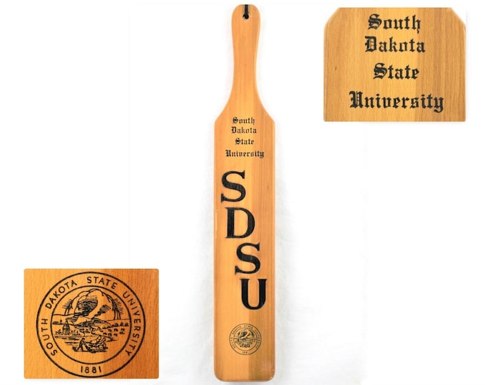 Vintage SDSU  / South Dakota State University  / School Memorabilia / Pledge Paddle
